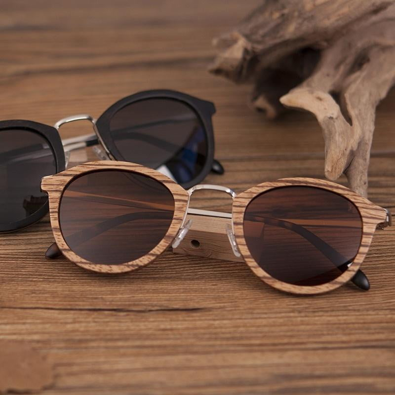 BOBO BIRD Natural Wooden Sunglasses - Dimension Dream Seekers
