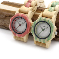BOBO BIRD Bamboo Women Watches - Dimension Dream Seekers