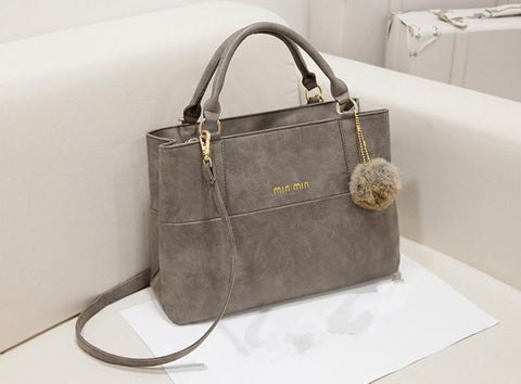 New fashion Retro Women Matte Leather Messenger Handbag - Dimension Dream Seekers