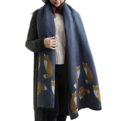 New Designer Cashmere Scarf - Dimension Dream Seekers