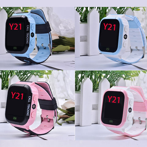 Y21 GPS Child Smart Watch Phone Position Children Watch 1.44 inch Color Touch Screen WIFI SOS Smart Baby Watch - Dimension Dream Seekers