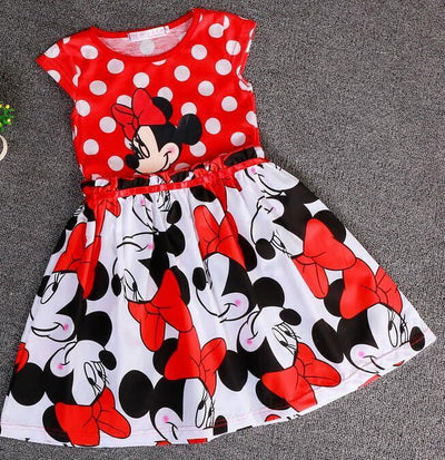 Cinderella dress Best children's clothing minnie dot kids dress tutu princess children dress casual girls clothes - Dimension Dream Seekers