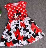 Cinderella dress Best children's clothing minnie dot kids dress tutu princess children dress casual girls clothes