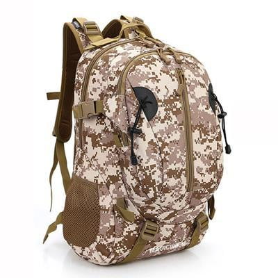 Military Backpack Canvas Bag Trekking Rucksacks 40L - Dimension Dream Seekers
