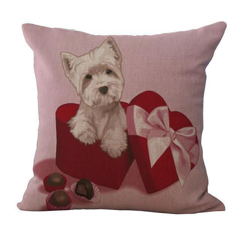 Beautiful Pillow Cases with Dogs
