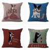 Vintage Dog Pillow Cases - Dimension Dream Seekers