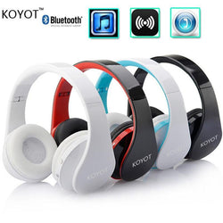 KOYOT Bluetooth Headset Wireless Headphones Stereo Foldable Sport Earphone Microphone headset bluetooth earphone - Dimension Dream Seekers