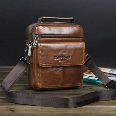 Men's Genuine Leather High Quality Handbags - Dimension Dream Seekers