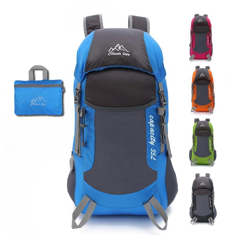 Foldable Backpack Super Soft Skin Pack Travel Backpack Outdoor Trekking Climbing Mountain Travel Waterproof Hiking Backpack - Dimension Dream Seekers