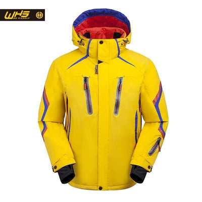 WHS 2018 New Ski Jacket men windproof warm coat male waterproof snowboard jacket Outdoor sport clothing winter Bright color - Dimension Dream Seekers