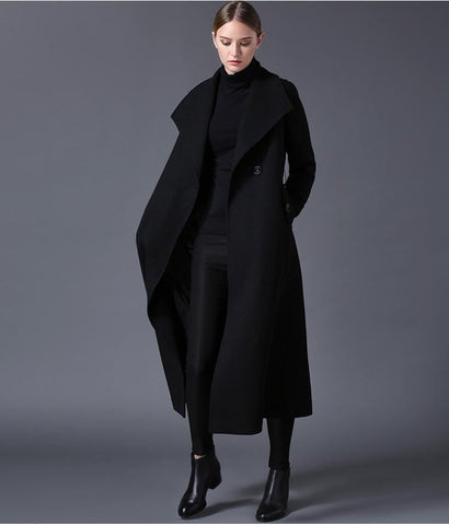 2018 Winter Women's Wool Coat - Dimension Dream Seekers