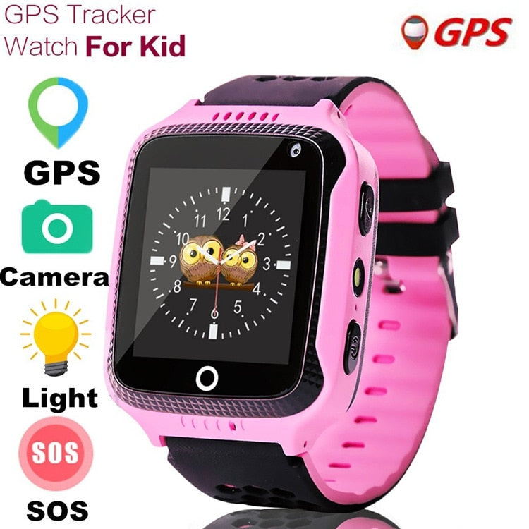 MOCRUX Q528 GPS Smart Watch With Camera Flashlight Baby Watch SOS Call Location Device Tracker for Kid Safe PK Q100 Q90 Q60 Q50 - Dimension Dream Seekers