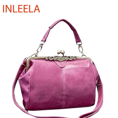 INLEELA 2016 British Vintage Hardware Matte Women Messenger Bags - Dimension Dream Seekers