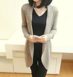 Autumn Winter New Women Long Sleeve Knitted Sweater Casual - Dimension Dream Seekers