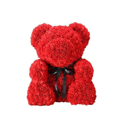 Rose Bear Girlfriend Valentine's Day Gift For Kids - Dimension Dream Seekers