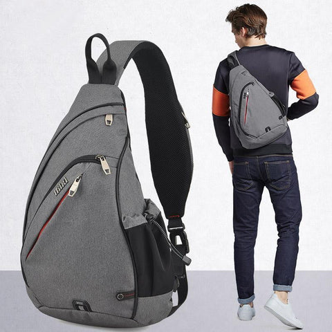 Men One Shoulder Backpack - Dimension Dream Seekers