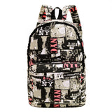 Amazing Canvas Retro Backpage Backpacks - Dimension Dream Seekers