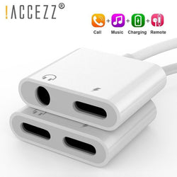 iPhone Adapter Aux Cable Splitter
