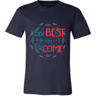 Canvas Men's Shirts Your Past Is Gone! Your Best Is Yet To Come - Dimension Dream Seekers