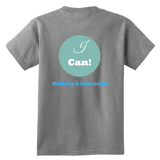I Can---Nothing Is Impossible Youth Shirts - Dimension Dream Seekers