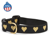 Heart of Gold Dog Collar - Dimension Dream Seekers