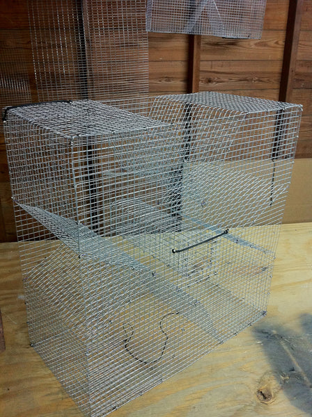 PERCH TRAP (Cloverleaf) - Used for Bream/Perch, Pinfish, and Crawfish.