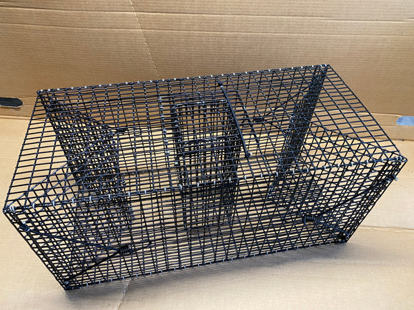 Folding Fish Trap - Folding Crawfish Trap - Collapsible Bait Fish Trap