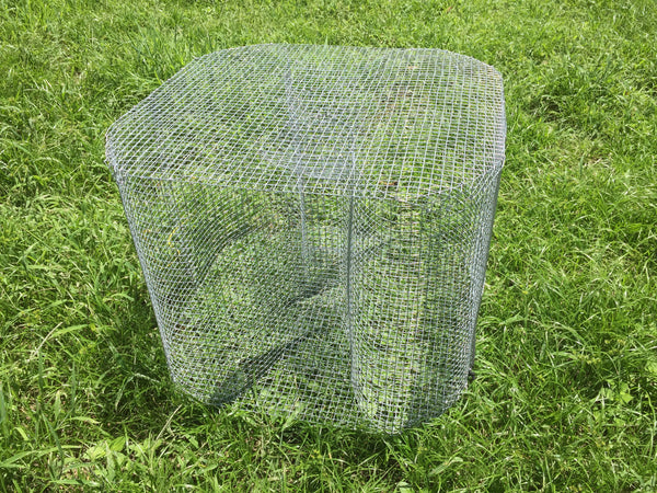 Fish Trap: Large Figure 8 / Guide's Secret Bait Fish Trap (Perch Trap, Bream Trap, Sunfish Trap)