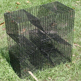 PINFISH TRAP - PVC Coated Cloverleaf Trap - Perch Trap - Bream Trap