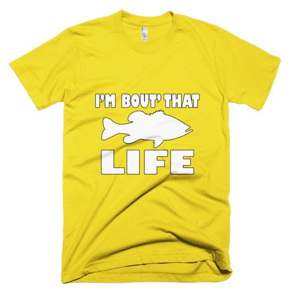 About That Bass Life Short sleeve men's t-shirt
