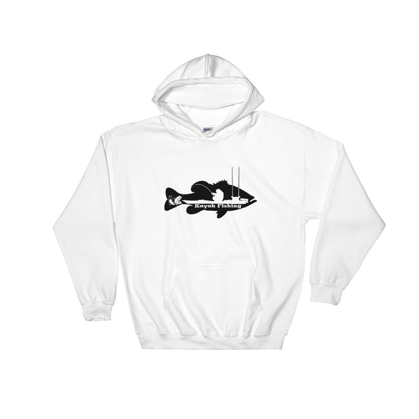 Kayak Fishing Hooded Sweatshirt