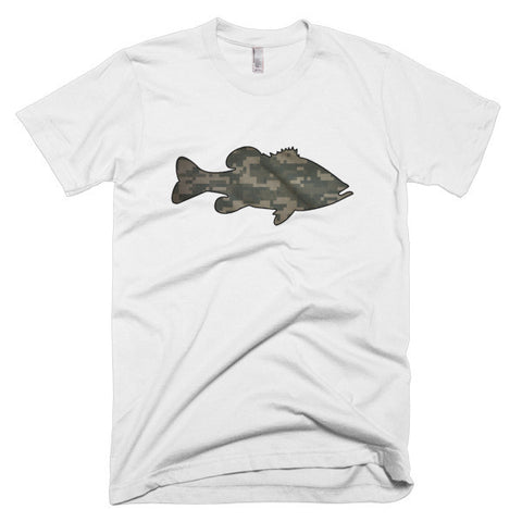 Digital Camo Short Sleeve Men's T-Shirt