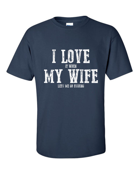 I Love My Wife Short Sleeve Men's T-Shirt
