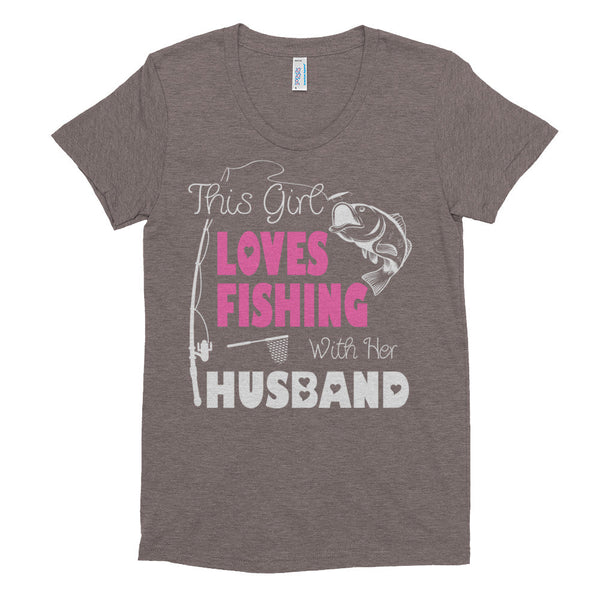 Fishing with Husband T-Shirt