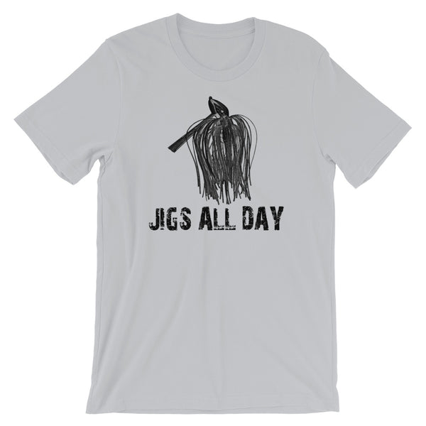 Jigs All Day Bass Fishing T-Shirt