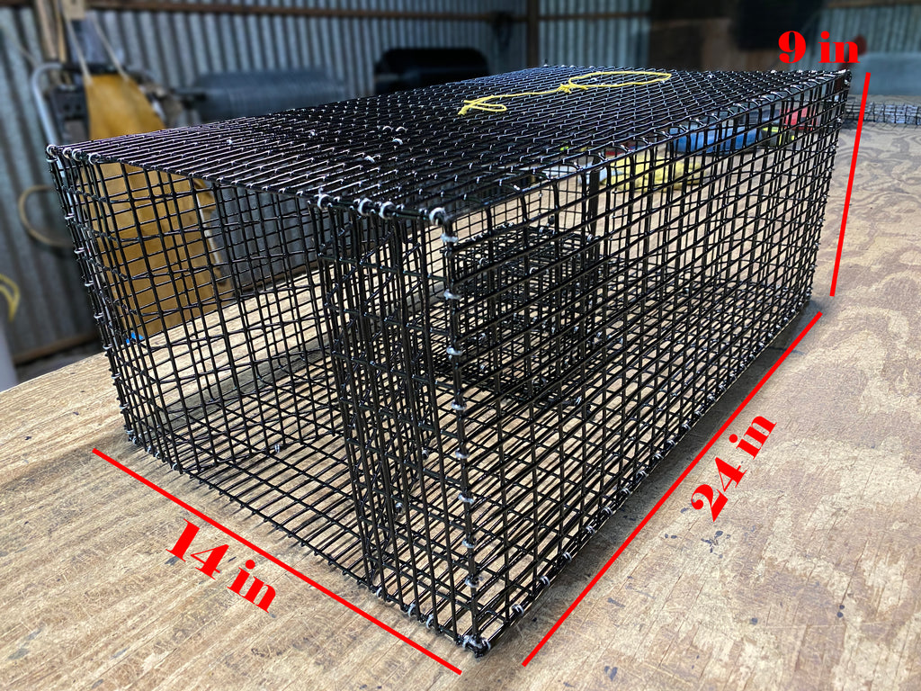 Pinfish Trap (Rectangle) - Rectangle Bait Fish Trap: Bream Trap – Perch Trap – Pinfish Trap – Eel Trap