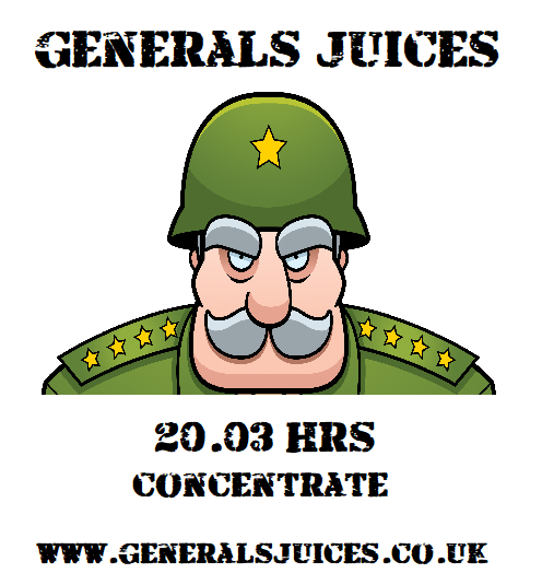 Generals Juices - 20:03HRS Concentrate