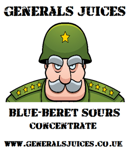 Generals Juices - Blue-Beret Sours Concentrate