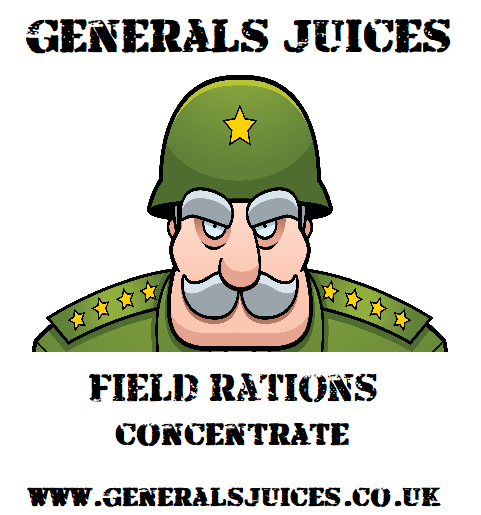 Generals Juices - Field Rations Concentrate