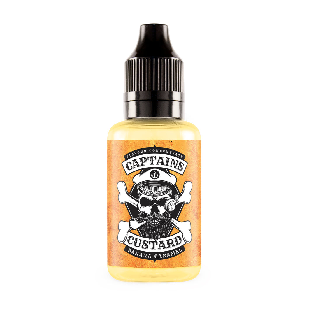 Captain's Custard - Banana Caramel Concentrate