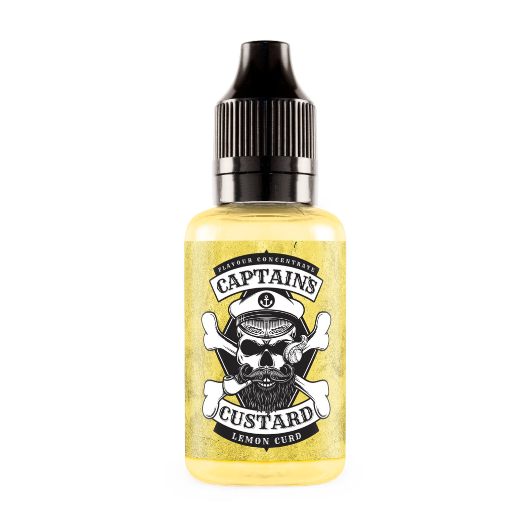 Captain's Custard - Lemon Curd Concentrate