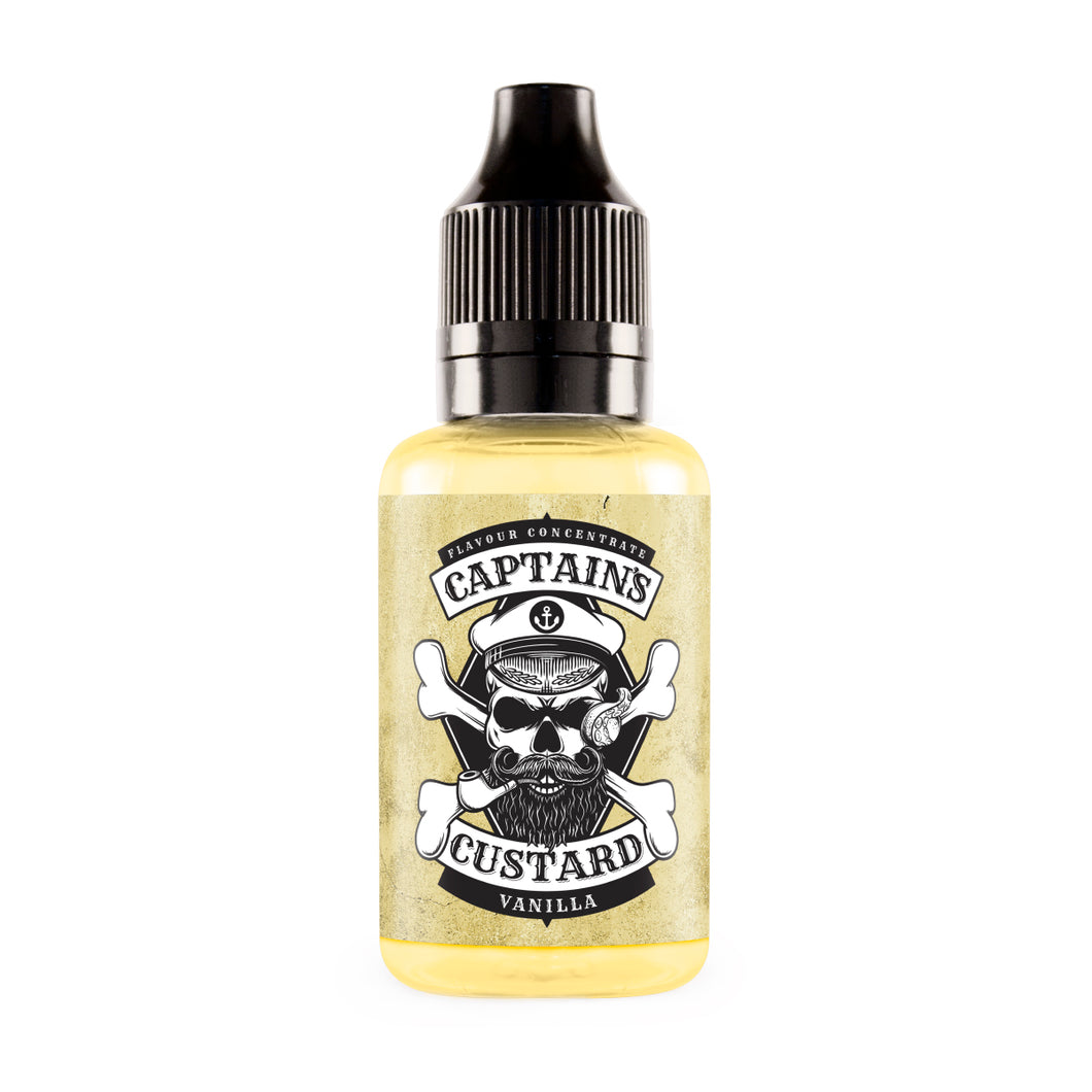 Captain's Custard - Vanilla Concentrate