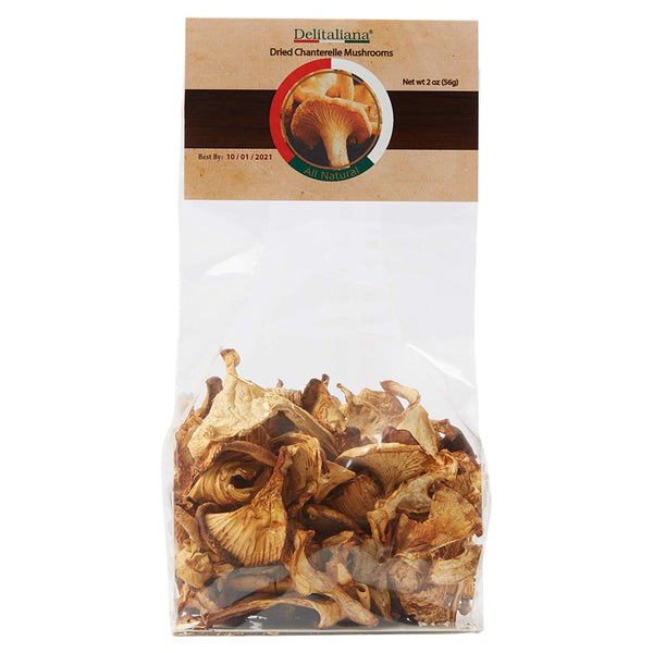 Dried Chanterelle Mushrooms 2 Ounce