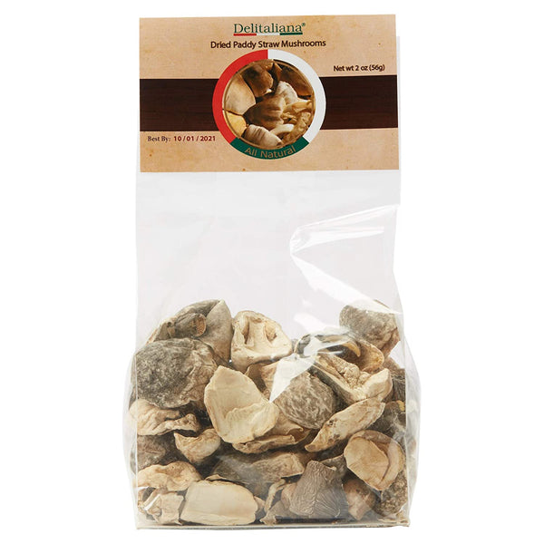 Dried Paddy Straw Mushrooms 2 Ounce