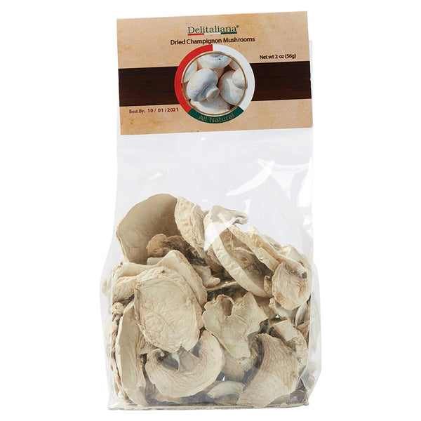 Dried Champignon Mushrooms 2 Ounce