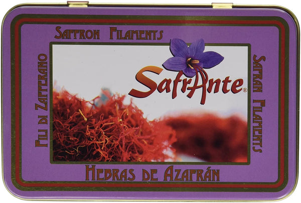Pure Spanish Saffron Tin 28-Gram (1-Ounce)
