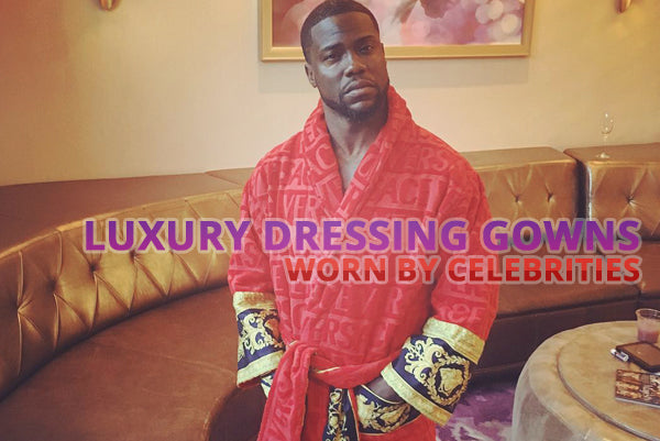 luxury dressing gowns worn by celebrities