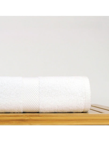 Best Hotel/Spa Cotton Bath Towels - White - Set of 4, Bath Towels