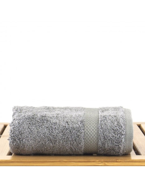 Bulk Hand Towels Quick Dry Super Absorbent - Gray - Set of 6, Hand Towels