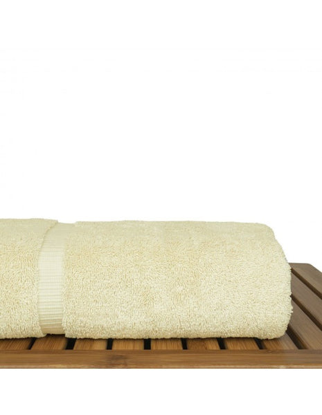 Fast Dry Authentic Turkish Bath Towel - Cream - Set of 4, Bath Towels